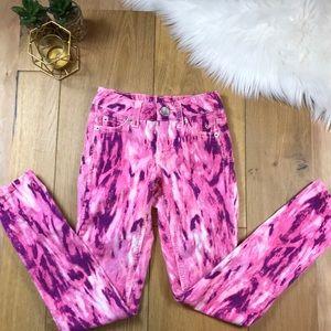 Justice Pink Corduroy Pants #769